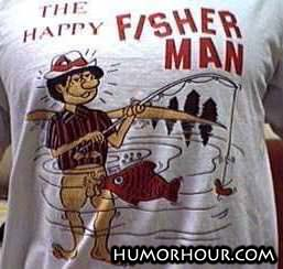 Happy Fisherman