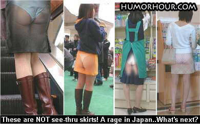 New Skirts in Japan