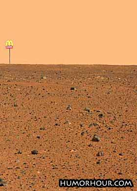 There is life on mars!