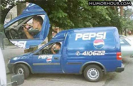 What people working for Pepsi drinks
