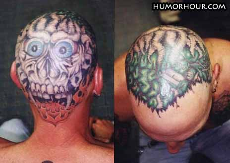 Horror tatoo