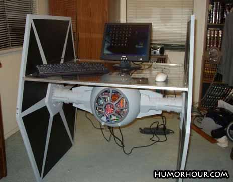 Star wars, geek computer