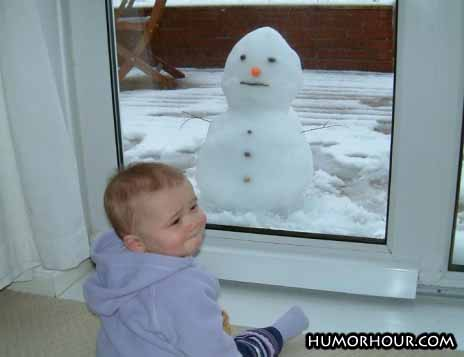 Baby and Baby snowman